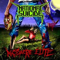 NATIONAL SUICIDE - Massacre Elite - LP Black [limited 233]