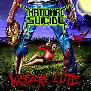 NATIONAL SUICIDE - Massacre Elite - LP Black [limited 233]