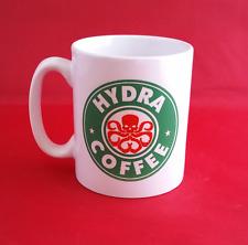 Marvel Avengers Hydra Logo inspirado Taza de Café 10oz-Capitán América Starbucks
