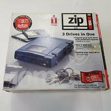 Genuine Iomega Zip SCSI Drive 100MB External Drive Full Set Package
