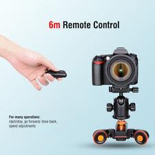 YELANGU L4X Mini Slider Auto Schiene Motor Dolly 3-Rad für Kamera Camcorder DSLR
