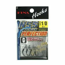7080) FINA N.S.S Hook Perfection. for Neko Rig Hook. Hook Size variation