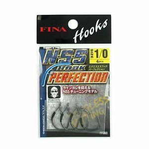 * FINA N.S.S Hook Perfection. for Neko Rig Hook. Hook Size variation