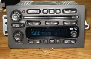 2003-2006 GMC YUKON SIERRA Hummer 6 DISC CHANGER CD RADIO Stereo Bose UNLOCKED