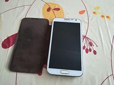 """Samsung  Galaxy Note II GT-N7100 16GB - Marble White Smartphone mit """"Flip-Case"""""""