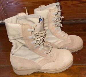 Altama 5200 Women's Desert Military Tan Boots PJ 07-07 Vibram Soles  Sz 7