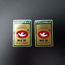 """Stickers fourche """"COLUMBUS MAX OR"""" NOS"""