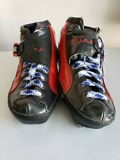 Luigino Sting Inline Speed Skate Boot Size 6-38 Red Youth Red Carbon