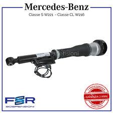 MERCEDES BENZ CLASSE S W221 AMMORTIZZATORE SOSPENSIONE COMPLETO POST SX ADS