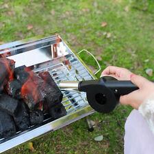 Outdoor Camping Cooking Tools Hand Crank BBQ Fan Air Blower Powered Fire Bellows