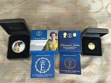 H.M. Queen Elizabeth II - Diamond Jubilee Gold and Silver Coin Set (2012)