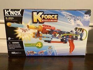 Knex Kforce K-20X Blaster Building Set - Build And Blast - Open Box Set