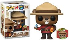 **IN HAND** CANADA EXCLUSIVE Funko Pop! AROUND THE WORLD - DOUGLAS THE BEAVER 08