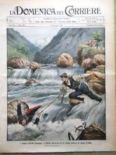 La Domenica del Corriere 25 Luglio 1909 Argentina Enrico Caruso Tour de France