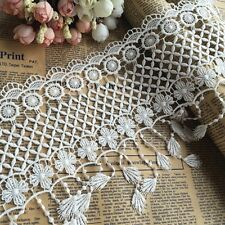 New Fringe Lace Trims Embroidered Curtain Tassle Dress Flower Edge Sewing Craft