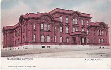 Guelph Ontario MacDonald Institute - Prelinen - Used - Good