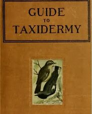 TAXIDERMY BOOKS LIBRARY COLLECTION 21 PDF BOOKS ON DISK