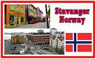 STAVANGER, NORWAY - SOUVENIR NOVELTY FRIDGE MAGNET - BRAND NEW - GIFT