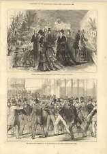 1874 Assault On M Gambetta St Lazare Station Paris The People's Garden Willesden