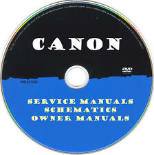 Canon Printer Copier Fax MFC SERVICE MANUALS- PDFs on DVD - Huge Collection