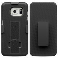 SAMSUNG GALAXY S7 EDGE ARMOR DEFENDER HARD SHELL HOLSTER COMBO CASE COVER STAND