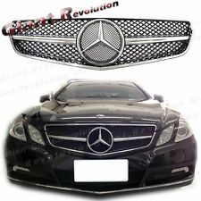 Tune to SL Look Front Vent Grille For 10-13 C207 E250 E500 Coupe Convertible 2DR