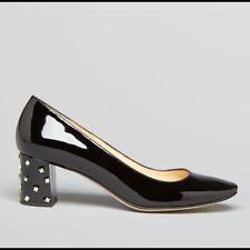 """Kate Spade """"Derena"""" Black Gold Studded Pumps Size 5.5 Retail 328.00$"""