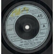 """LOWRY HAMNER AND THE CRYERS Who You Tryin' To Fool 7"""" VINYL UK Mercury B/W I"""