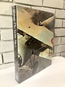 """NEW Vintage Another View C.R. Gibson """"Come Fly With Me"""" Puzzle WWI Airplane"""