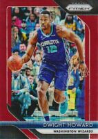 2018-19 Panini Prizm Basketball Ruby Wave Parallel #293 Dwight Howard Wizards