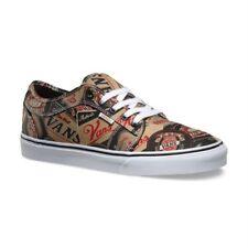 VANS Chukka Low (Labels) Black & Tan UltraCush Skate Shoes MEN'S 8