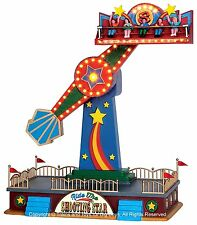Lemax 54918 THE SHOOTING STAR Carnival Ride Amusement Park Christmas Village I