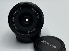 Nikon Lens Series E 35mm 1:2.5 Top Zustand #179951-22