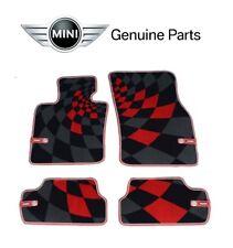 NEW Mini F56 Cooper JCW 14-17 Set of Front & Rear Carpet Floor Mats Set Genuine
