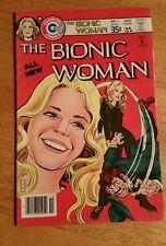 THE BIONIC WOMAN  # 1  1977  F/VF !!