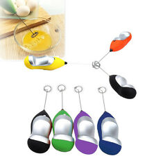 Electric Handheld Milk Cream Coffee Shake Frother Whisk Mixer Egg Beater Foamer