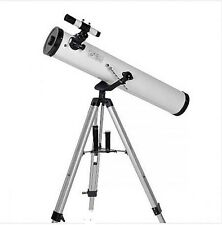 Astronomical Stargazing Night Watch Sky Star Planet Observing Telescope w Tripod