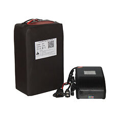 48Volt 20Ah LiFePO4 Battery Pack for Electric Bike Scooter Below 2000W + Charger