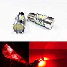 A1 2x Red LED Bulbs 1157 5730 SMD High Efficiency Turn Signal Break &Tail Light