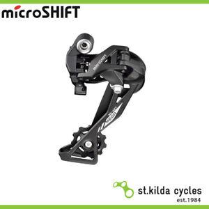 Microshift Rear MTB Bike Derailleur - Xle - 1/2/3 X 10 Speed Long Cage Aluminium