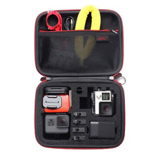 Middle Protective Carrying Case By HSU for GoPro Hero 6,5, 4, +LCD, Black, 3+