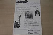 162737) Schanzlin Laubschneidegerät Prospekt 197?