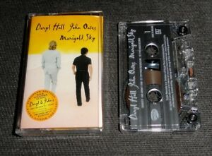 HALL & OATES Marigold Sky VERY RARE UK ISSUE CASSETTE ALBUM Eagle /Push EAGMC011