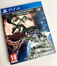 BAYONETTA & VANQUISH (SEALED!) - Sony PlayStation 4 Steelbook Game (PS4)(2020)