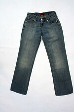 Classic women's Levi's 557 Eve square cut straight leg denim jeans W27 L30 uk10