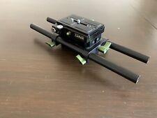 Lanparte Universal Baseplate High Riser DSLR Rig Follow Focus 15mm Rod USED