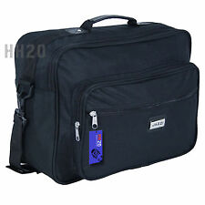 Hand Luggage Weekend Travel Cabin Case Flight Bag Hook On Holdall Messenger Mens
