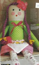 Rag Doll Sewing Pattern (c1b7n08)