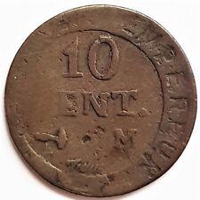 10 cent Napoléon empereur atelier M
