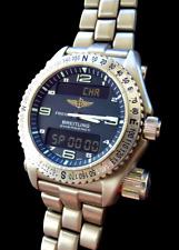 Breitling Emergency Titanium Piloten Notstand Multifunktions Chronograph E56121